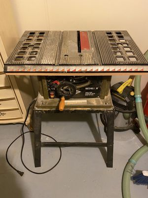 Rockwell 10inch table saw for Sale in Avon, OH