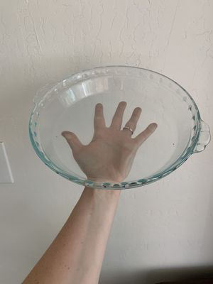 Pyrex pie dish for Sale in Fresno, CA