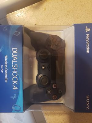 Brand new Navy Blue Sony dual shock 4 controller for Sale in Washington, DC