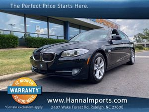 2013 BMW 5 Series for Sale in Raleigh, NC