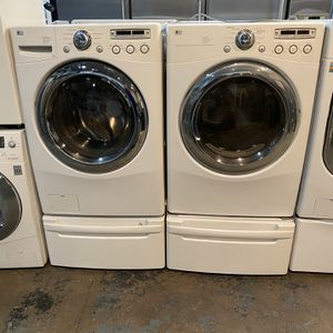 """Lg 27"""" Inch Washer And Gas dryer for Sale in The Bronx, NY"""