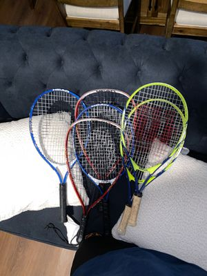 TENNIS RACQUETS/TENNIS RACKETS FOR RACQUET BALL AND TENNIS for Sale in Fontana, CA