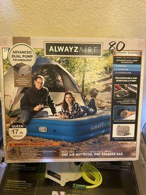 Air mattress with dual pump for Sale in San Diego, CA