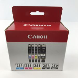 Canon Ink Cartridges 251 250 new in box for Sale in Huntington Beach, CA