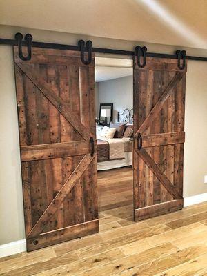 Barn doors $200 for Sale in Modesto, CA