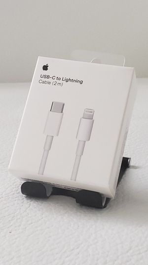 USB-C Lighting Cable (2m) RETAIL PACK for Sale in Miami, FL