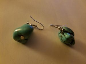 Turquoise earrings pair for Sale in Oxon Hill, MD