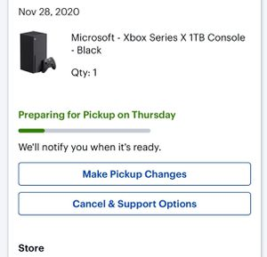 Xbox series x bring it home for the holidays for Sale in Palo Alto, CA