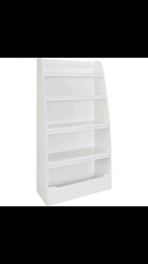"White 4-Shelf Kids BookCase (Clearance Sale!) TM $51 Dimensions: 31.57""L x 15.51""W x 60""H for Sale in Houston, TX"