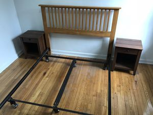 Queen Metal Bed Frame for Sale in New York, NY