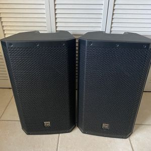 EV ZLX-12P Powered Speakers With Covers for Sale in Miami, FL