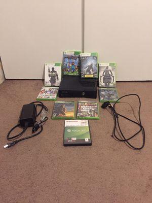 Xbox 360 250gb w/ 9 Games for Sale in Stockton, CA