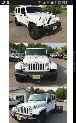2011 Jeep Wrangler unlimited Sahara 4x4 for Sale in Manassas, VA