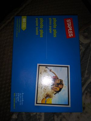 Photo plus gloss paper for Sale in Waterbury, CT
