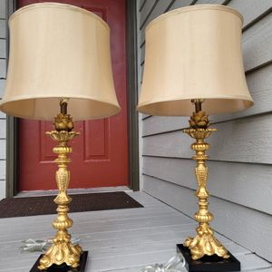 SET OF 2 TABLE LAMPS SUN-LINE for Sale in Lynnwood, WA
