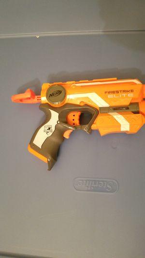 Firestrike Elite Nerf Gun w/laser light for Sale in Aurora, IL