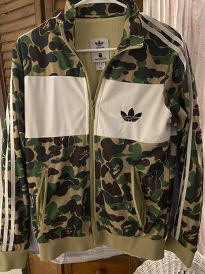 Adidas Bape Track Jacket for Sale in St. Petersburg, FL
