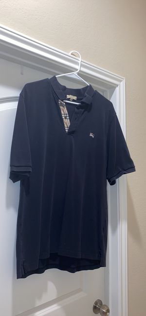 Men's XL Burberry and polo shirts for Sale in The Woodlands, TX