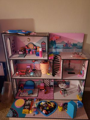 Lol doll house no shipping dallas only for Sale in Dallas, TX
