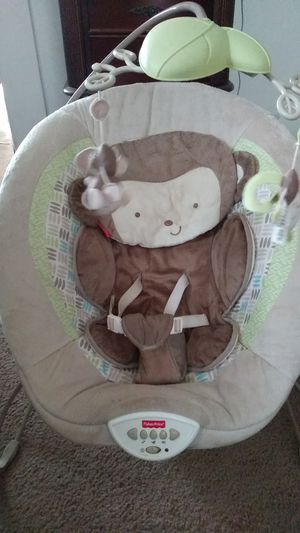 Bouncer, infant play mat, handmade crib, baby gate for Sale in Portsmouth, VA