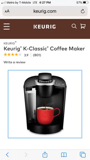Keurig K-classic coffee maker for Sale in Naples, FL