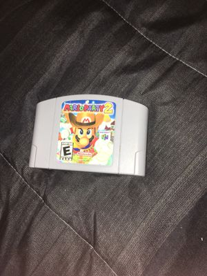 Mario Party 2 N64 for Sale in Balch Springs, TX
