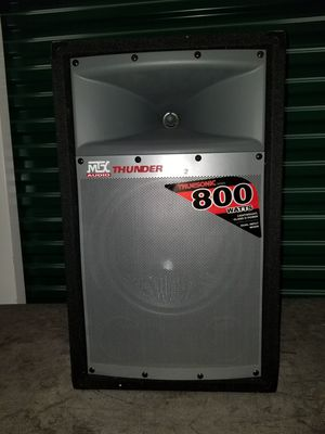 MTX Thunder Pro Audio Speakers for Sale in Virginia Beach, VA