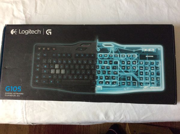 20f99603bcc Logitech g105 gaming keyboard for Sale in Port Washington, NY ...