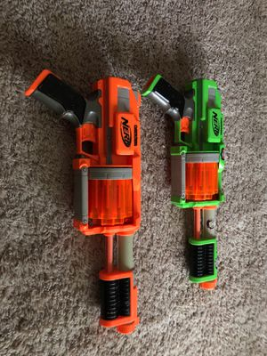 Nerf dart tag guns for Sale in Raleigh, NC