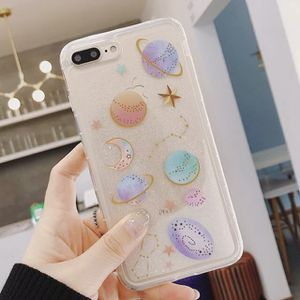 Clear Stars & Space Glitter iPhone Case for Sale in Abilene, TX