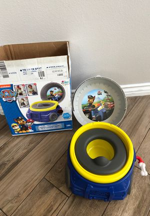 Paw patrol chase potty training for Sale in Henderson, NV