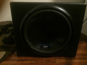 """12"""" sub With box , planet audio for Sale in Irving, TX"""