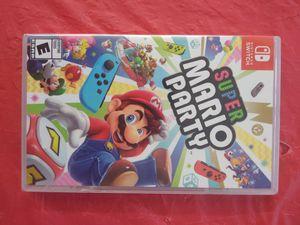Nintendo switch Super Mario Party for Sale in Dallas, TX