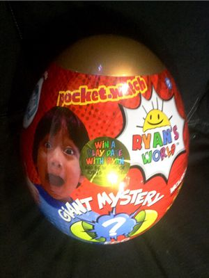 (GOLD) Ryan's world giant mystery egg for Sale in Downey, CA