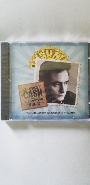 Johnny cash collection vol.2 sealed for Sale in Piney Flats, TN