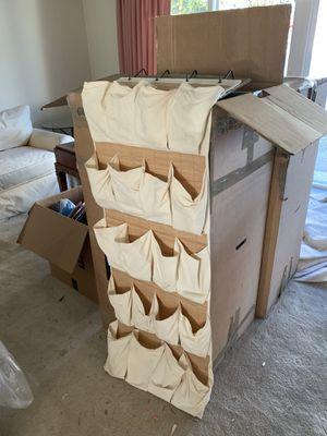 Over the door shoe rack (holds 20+ pair) for Sale in Everett, WA