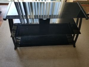 "3-Shelf, Glass 50-55"" TV Stand for Sale in Orlando, FL"