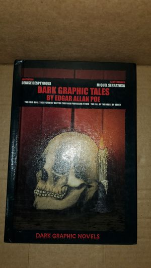 Dark Graphic Tales by Edgar Allen Poe for Sale in Redwood City, CA