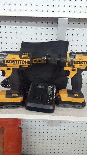 Bostitch 18v litiun ion hammer drill and impact NEW open box for Sale in Starke, FL