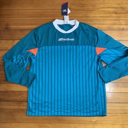 NEW Reebok Vintage Soccer Jersey long sleeve Teal for Sale in Saint Paul,  MN