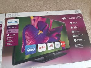 """Phillips 4K UHD 55"""" inch TV for Sale in Coppell, TX"""