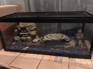 aquatic turtle tank for Sale in Jonesboro, GA