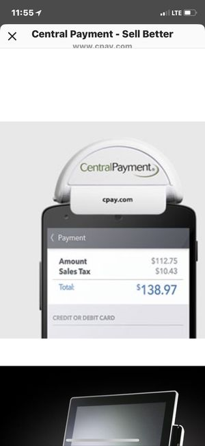 Mobile credit card reader for Sale in Detroit, MI