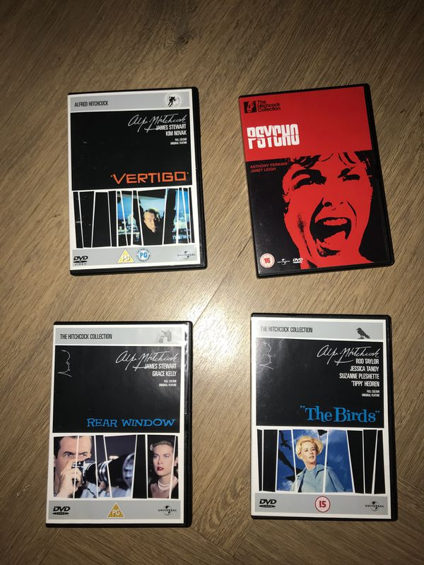 Alfred Hitchcock the essential collection UK DVDs