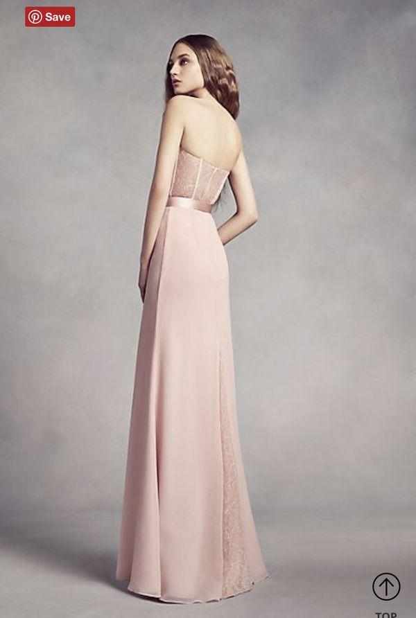 White of Vera Wang Bridesmaids Dress
