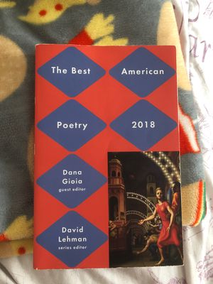 The Best American Poetry 2018 Cerritos College for Sale in Bell, CA