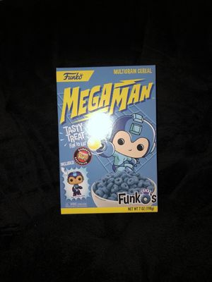 Megaman funko collectible cereal for Sale in Lodi, CA