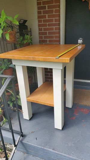 Tall solid wood table for Sale in Winter Park, FL