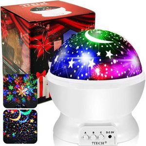 Star Projector - Night Light Projector for Kids 16 Colors Modes 2 Film, Ceiling Light Projector Lamp 360 Degree Rotation, Moon Star Night Light Snowfl for Sale in San Dimas, CA