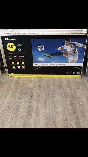65 INCH HISENSE PLUS H9 4K SMART TV 📺 for Sale in Chino, CA